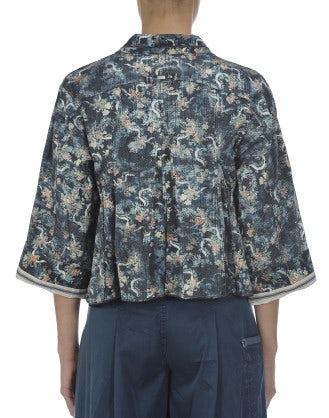 DANDY: Vintage flowers print jacket