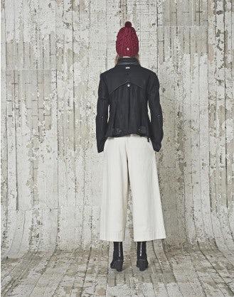 COMMANDER: Blouson in lana nera