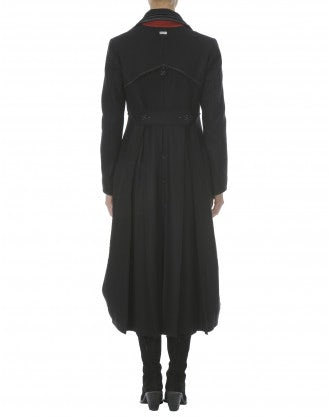 CAVALLIER: Cappotto lungo in lana