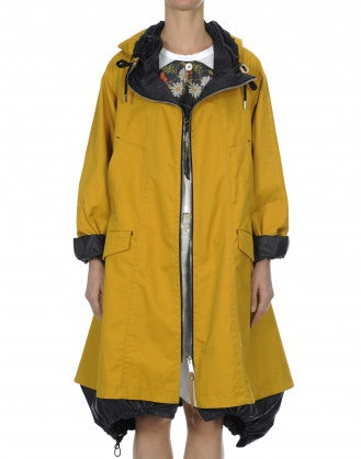 ILLUDE: Parka color calendula
