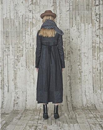 BOULEVARD: Cappotto spigato e rigato