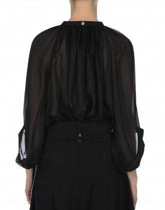 SIMILE: Camicia ampia in garza di seta