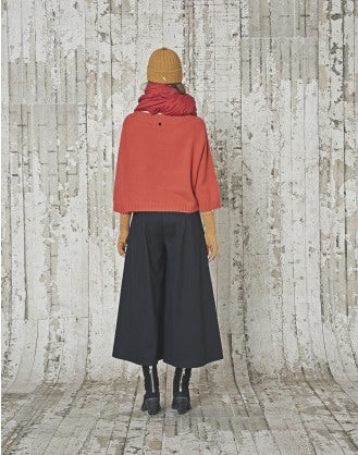 QUINK: Carrot cashmere knit