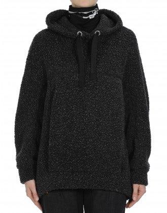 GRAVITAS: Felpa oversize effetto lana