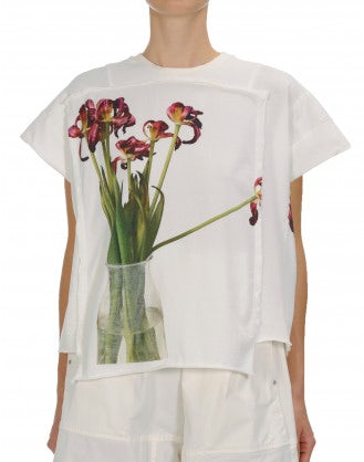 "POSY: Flowers in vase"" photo-print t-shirt"