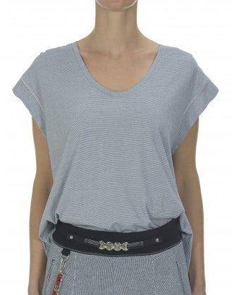JOB: Soft stripe jersey top