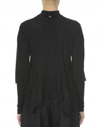 DELPHI: Maglia nera in jersey leggero