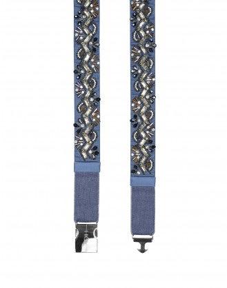 DISTINCT: Cintura gioiello elasticizzata