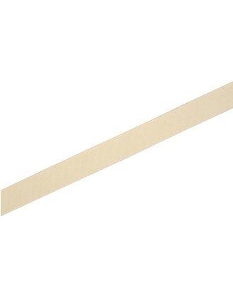 NOTCH: Cintura elasticizzata color crema con chiusura in pelle