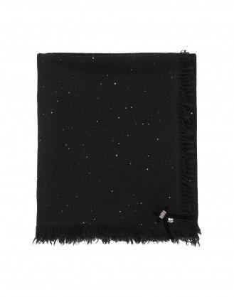 GALAXY: Sciapa nera con paillettes