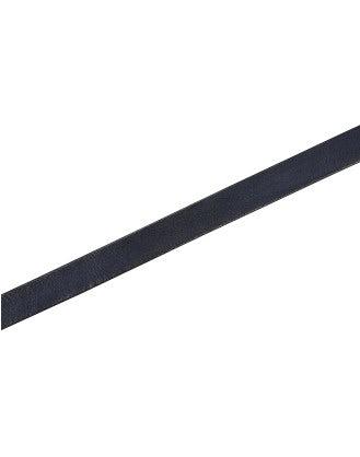 STRUP: Cintura con fibbia in pelle blu navy