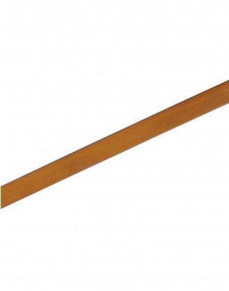 STRUP: Cintura con fibbia in pelle marrone