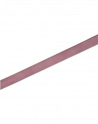STRUP: Dusty pink leather buckle belt
