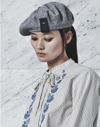 GIDDY: Wool felt beret