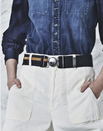 REACT: Cintura elastica con velluto
