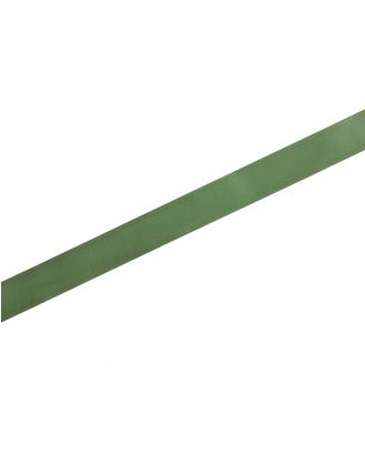 SECURE: Green leather double prong belt