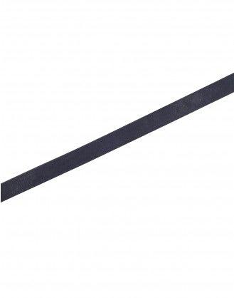 HULA: Navy belt with spade shape buckle