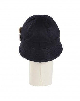 ENDORSE: Navy tech twill sun hat