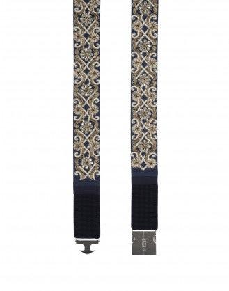 GYRATE: Jewelled stretch belt