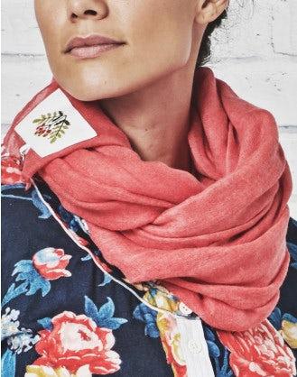 HANKER: Oversize ultrafine wool scarf