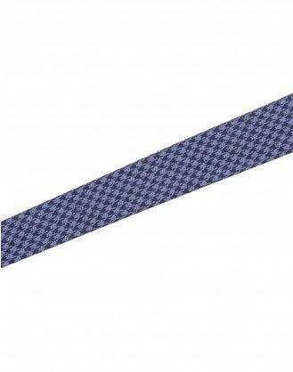 PELHAM: Cintura cravatta blu in pura seta