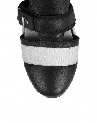 MIKO: Sneakers alte con aperture laterali, nere