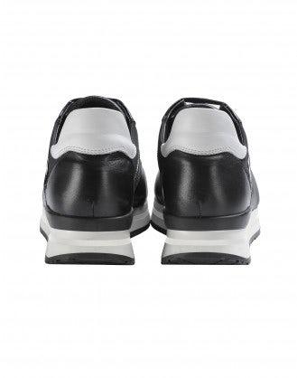 FRANTIC: Sneakers in vernice nera