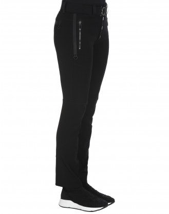 WAY-WARD: Black cavalry twill pants