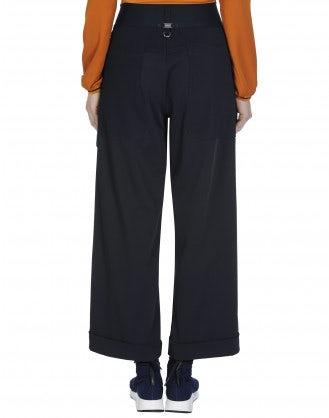 LIVEWIRE: Pantalone ampio con costina