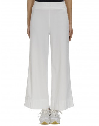EQUITY: Wide leg flat front pant
