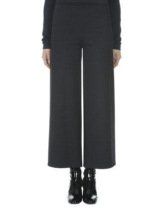 TOWNIE: Pantaloni blu navy scuro a campana