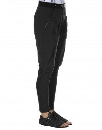 LURCH: Pantaloni affusolati neri