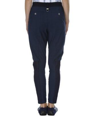 LURCH: Pantaloni affusolati blu medio