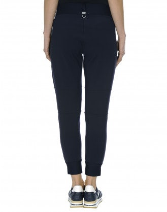 HI-LEAP: Jogger style pants with honeycomb mesh