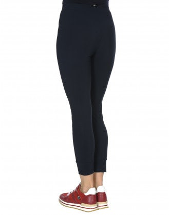 HALT: Leggings basici blu navy