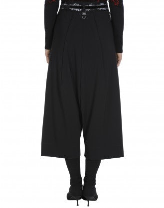 DITHER: Black Sensitive® culottes