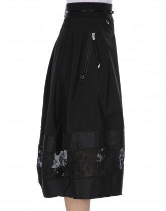 DUET: Full skirt with tech taffeta and net