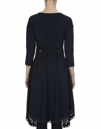 PRAISE: Navy Sensitive® dress