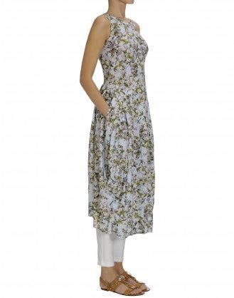 "AT LENGTH: Cherry blossom print Sensitive® ""balloon"" dress"