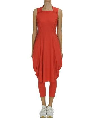 JESSY: Red Sensitive® dress