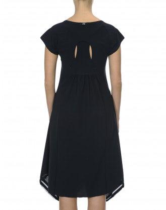 PRAISE: Navy racer back layer Sensitive® dress