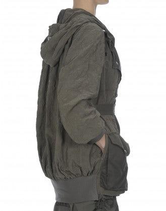 MUFTI: Giacca in stile parka con cintura