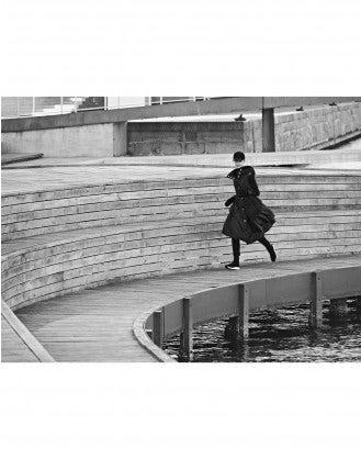 FUTURA: Parka lungo senza maniche
