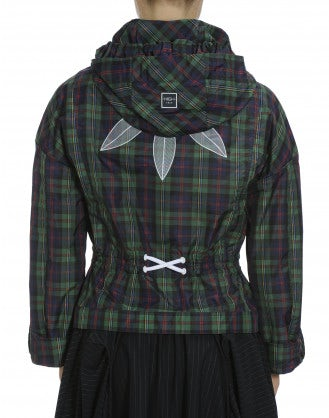 ELEMENT: Tartan check windcheater