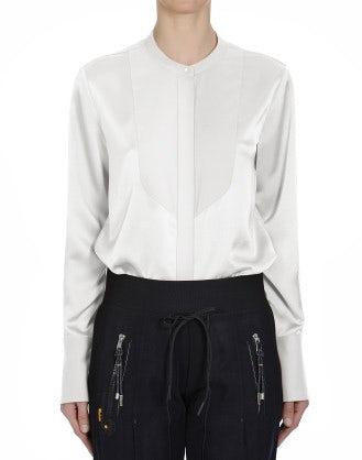 VIGIL: Camicia in raso tecnico lucido e opaco