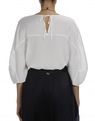 ISOLATE: Ivory 3/4 sleeve top
