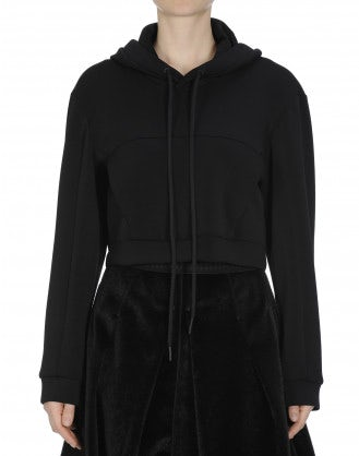 COLLECTIVE: Extra wide hooded sweatshirt