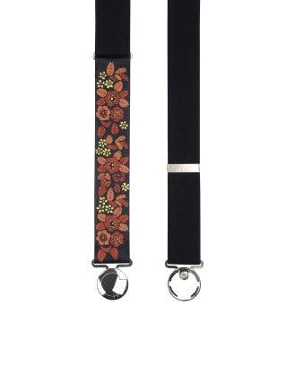 LULLABY: Cintura elasticizzata con motivo floreale