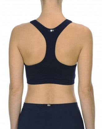 BRAZEN: Light support active bra in navy blue