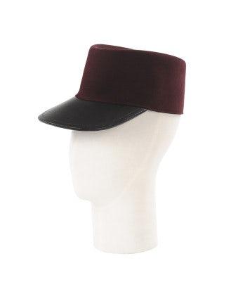 BOONIE: Cappello Chepì borgogna